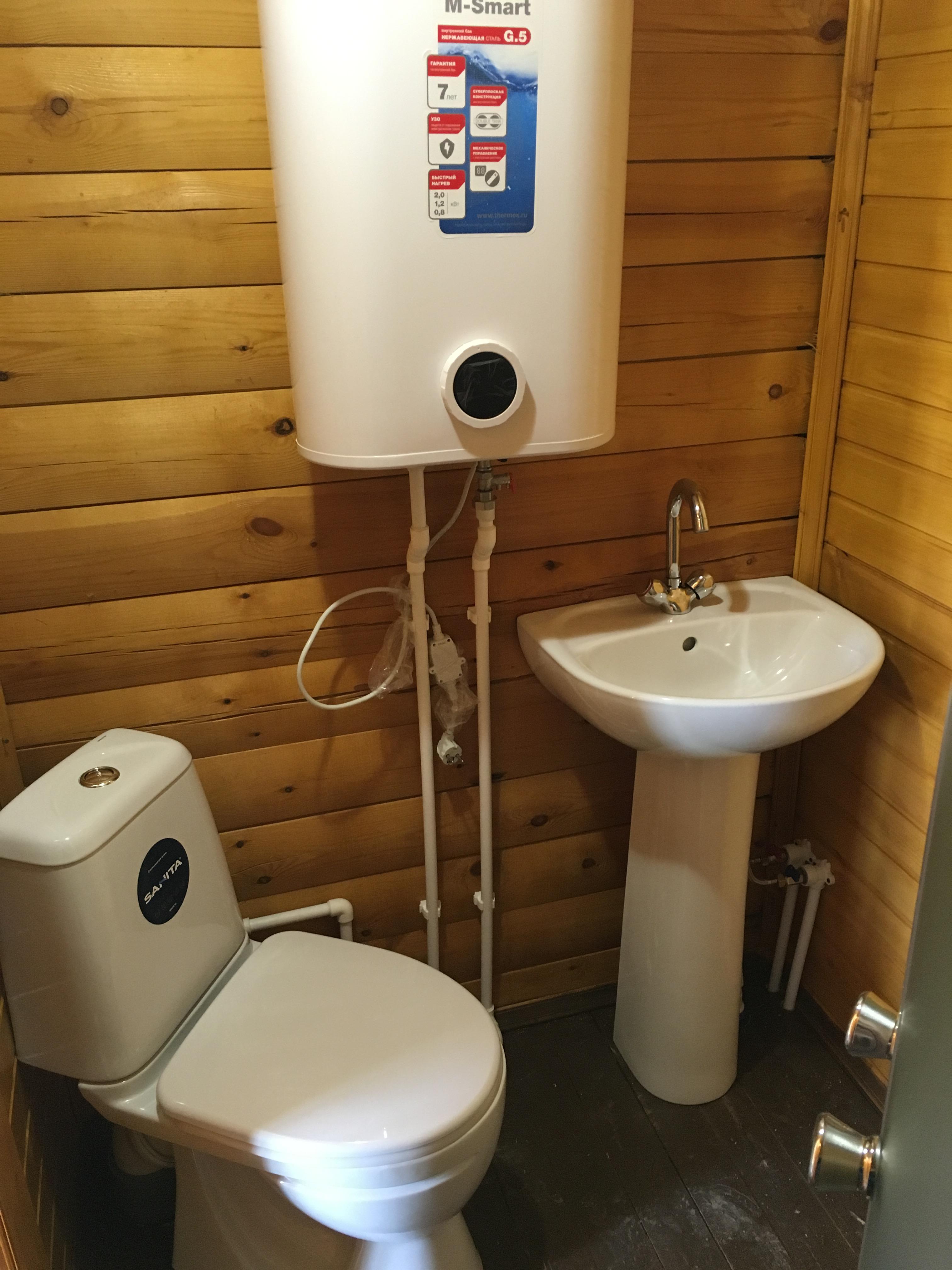 Монтаж водоснабжения и сантехники